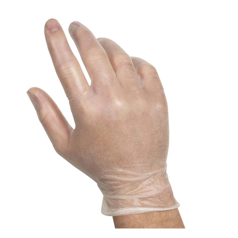 image of Glove Vinyl Foodservice Powder-Free Extra-Large