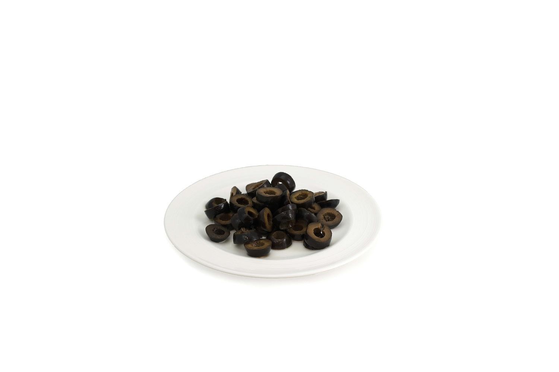 image of Olive Black Ripe Sliced