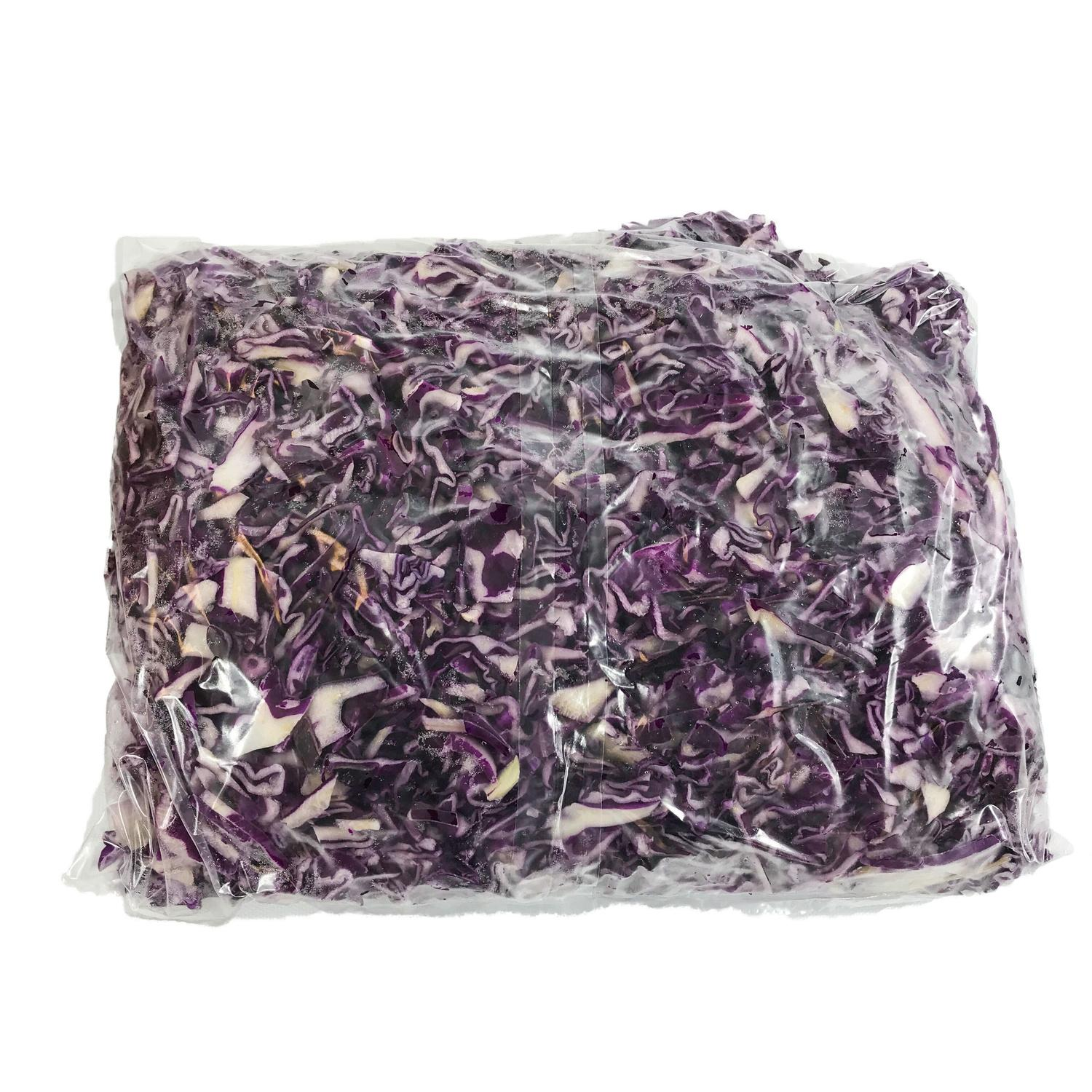image of CABBAGE RED SHREDDED FRESH