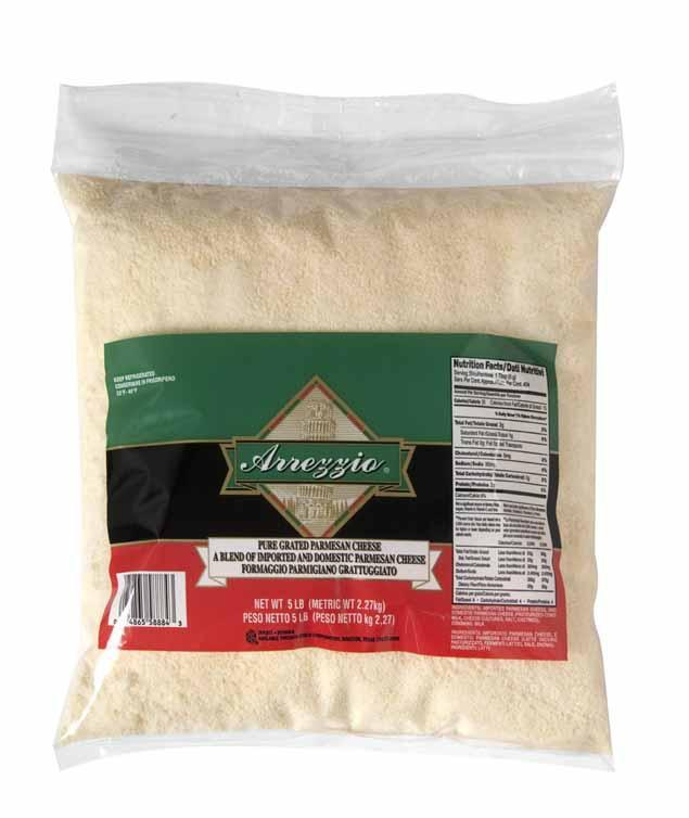 image of Arrezzio Imperial Grated Parmesan Cheese