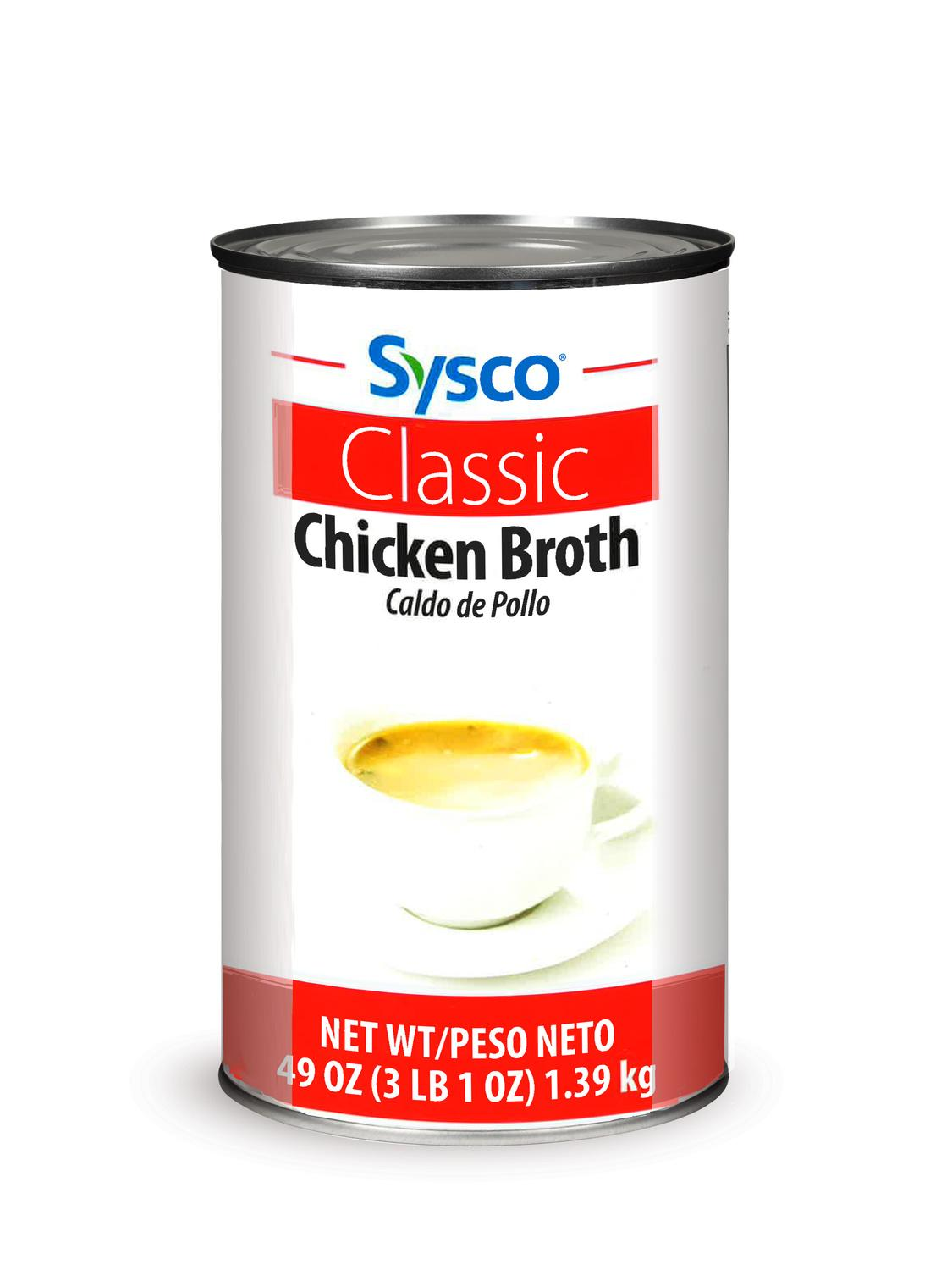 image of Sysco Classic Chicken Broth