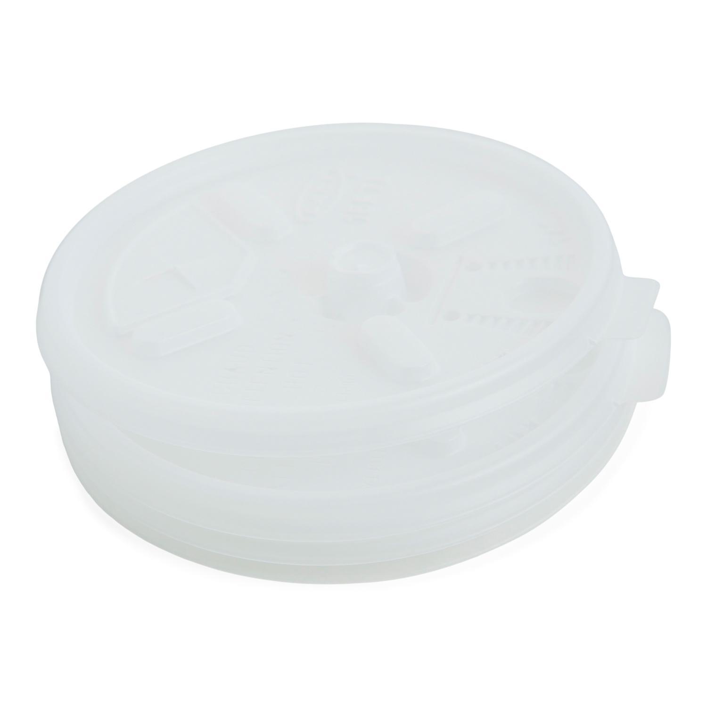 image of Lid Plastic Lock & Straw 12-24 oz