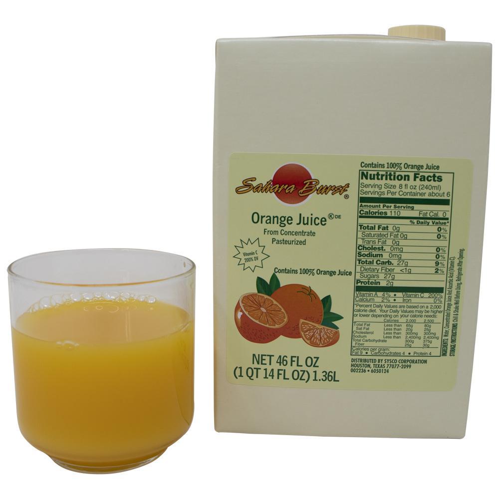 image of Juice Orange 100% Aseptic