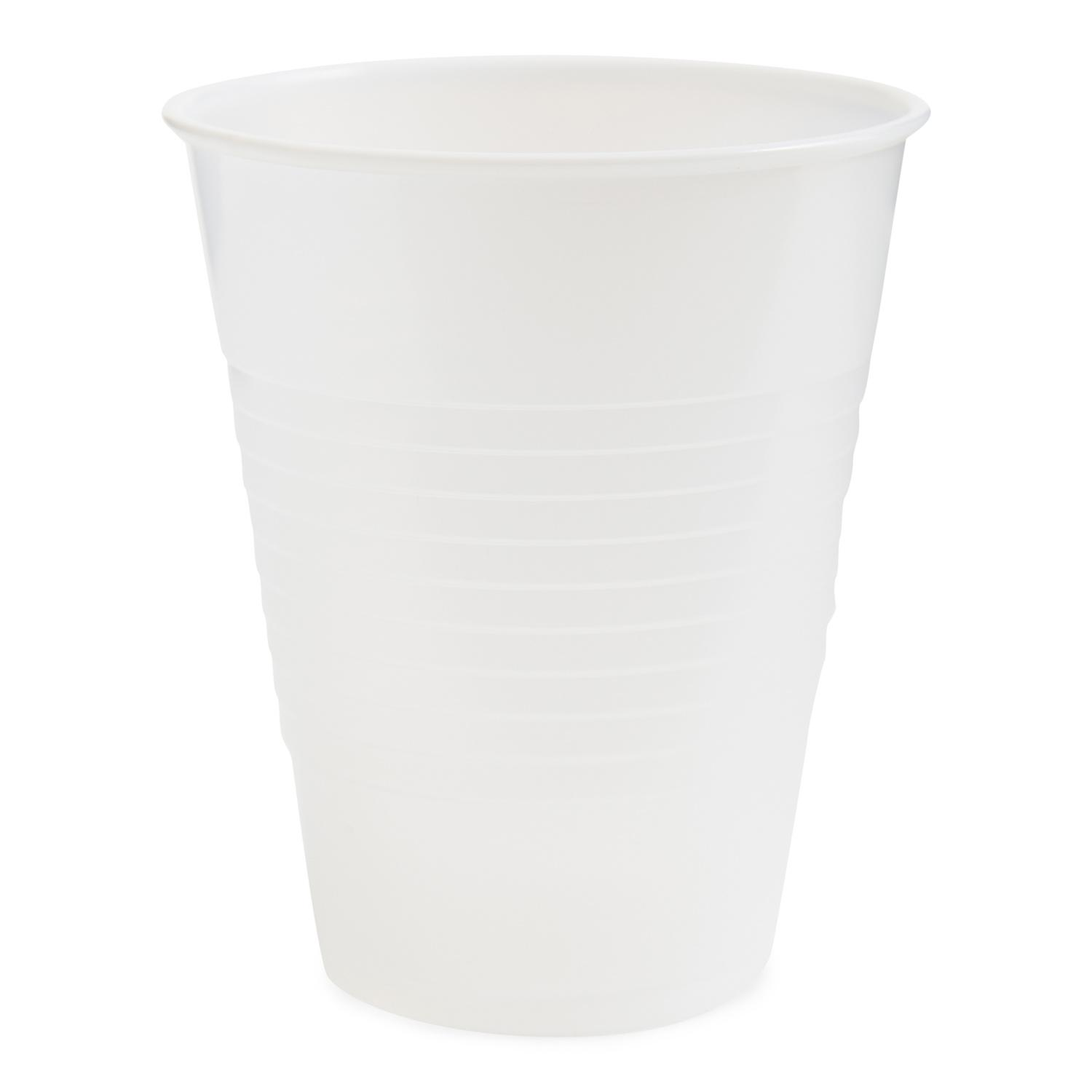 image of Cup Plastic Translucent High Impact Polystyrene 12 Ounce