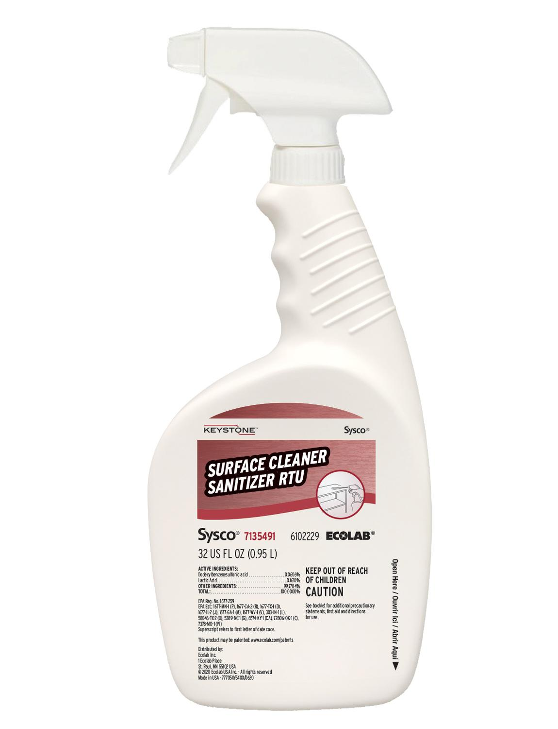 Image of Cleaner Sanitizer Surface Ready To Use