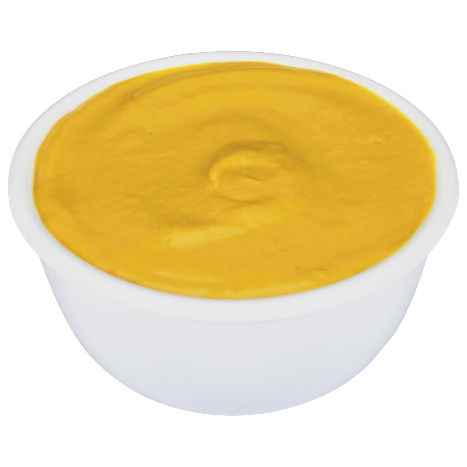 image of Mustard Fancy Pouch Dispenser