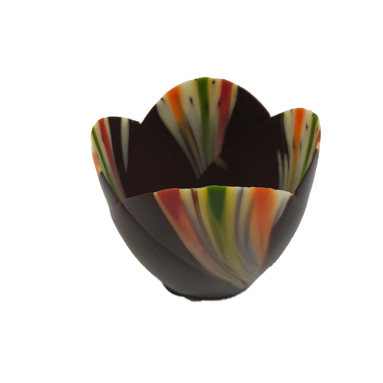 Image of Chocolate Cup Tulip Pastel